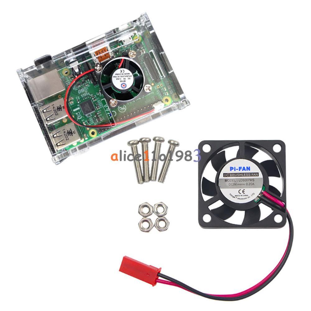 Raspberry Pi 2//3 U9 New 12V 0.2A Cooling Cooler Fan for Raspberry Pi Model B+