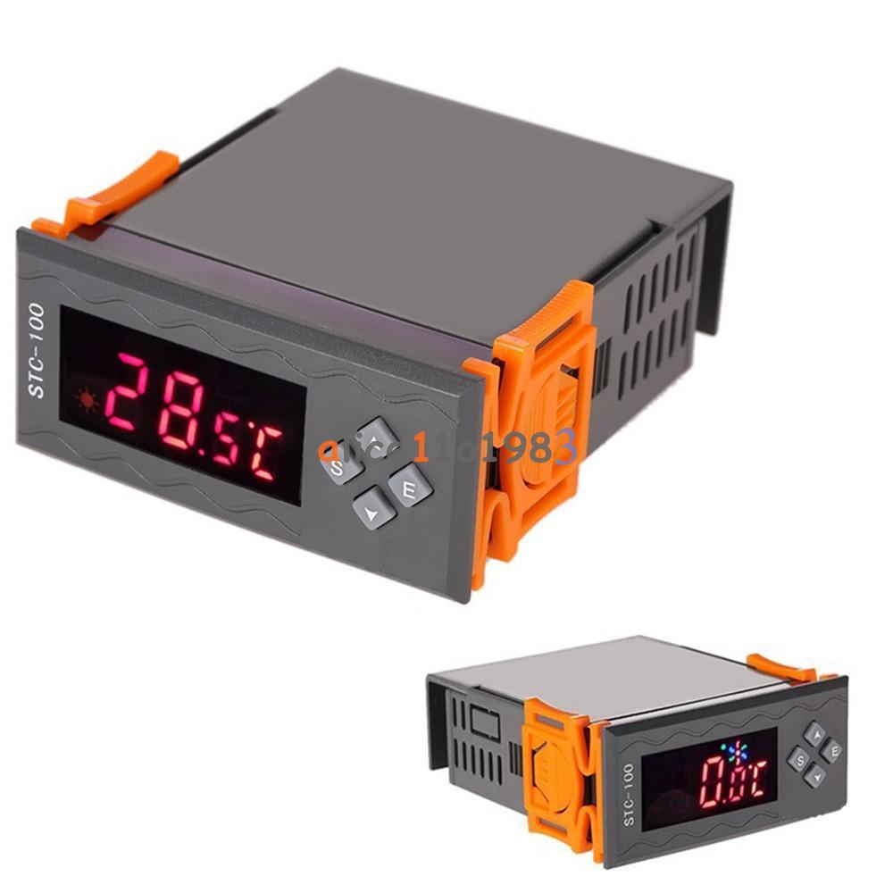 12v 24v 110v 220v Stc 100 1000 Digital Temperature Controller Thermostat W Ntc Ebay