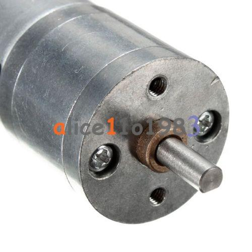 Motor speed reduction gear motor electric 12v dc 60rpm for Electric motor with gear reduction