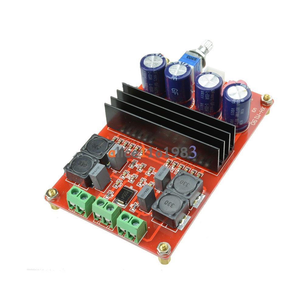 W tpa d dual channel digital audio amplifier