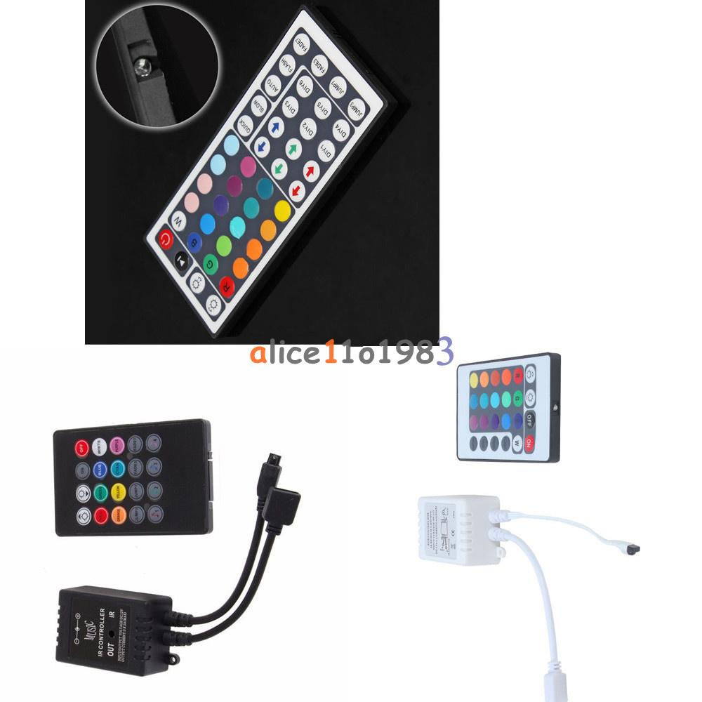 Dc 12v Rgb Led Light Strip Ir Sensor Controller Sound