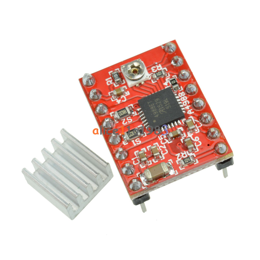 A3967 a4988 easy driver stepper motor driver board driver for Driving stepper motor with arduino