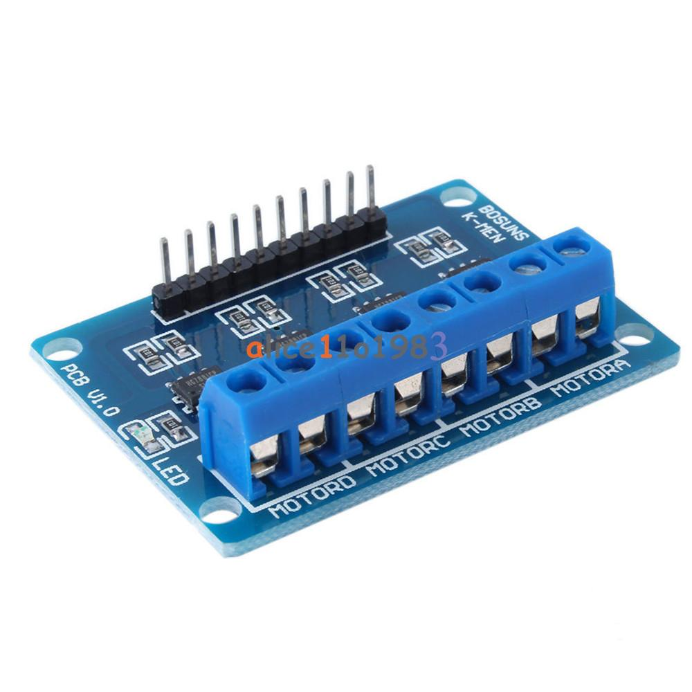 Hg7881 4 Channel Dc Stepper Motor Driver Controller Board