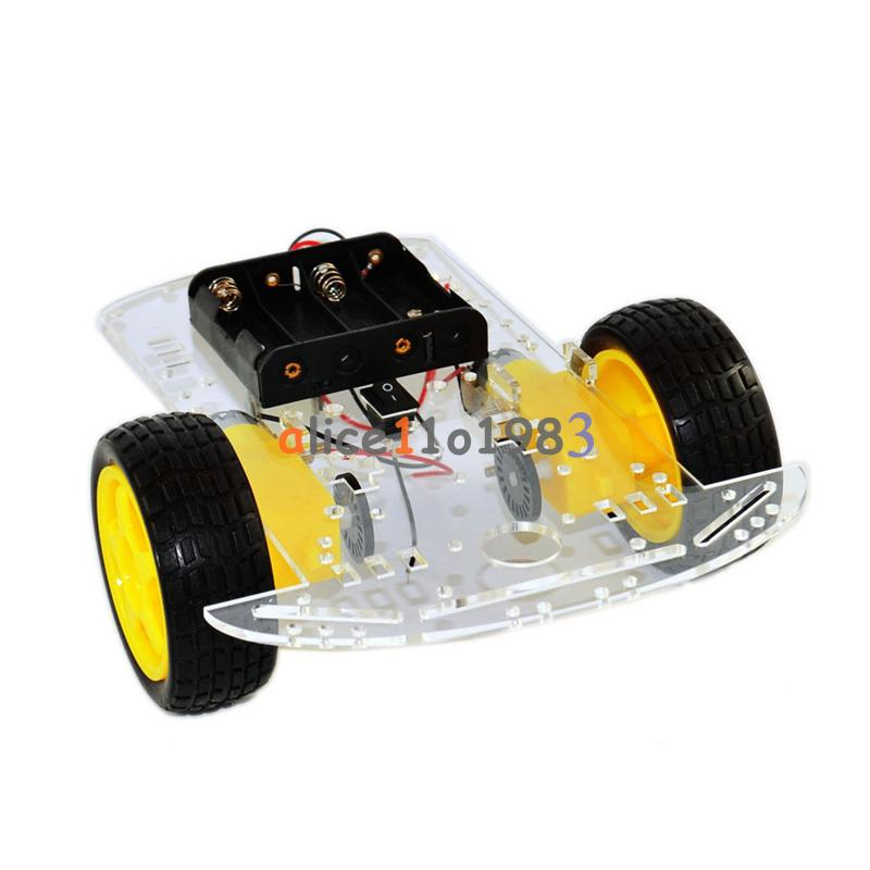 Wd smart robot car chassis kit speed encoder battery box
