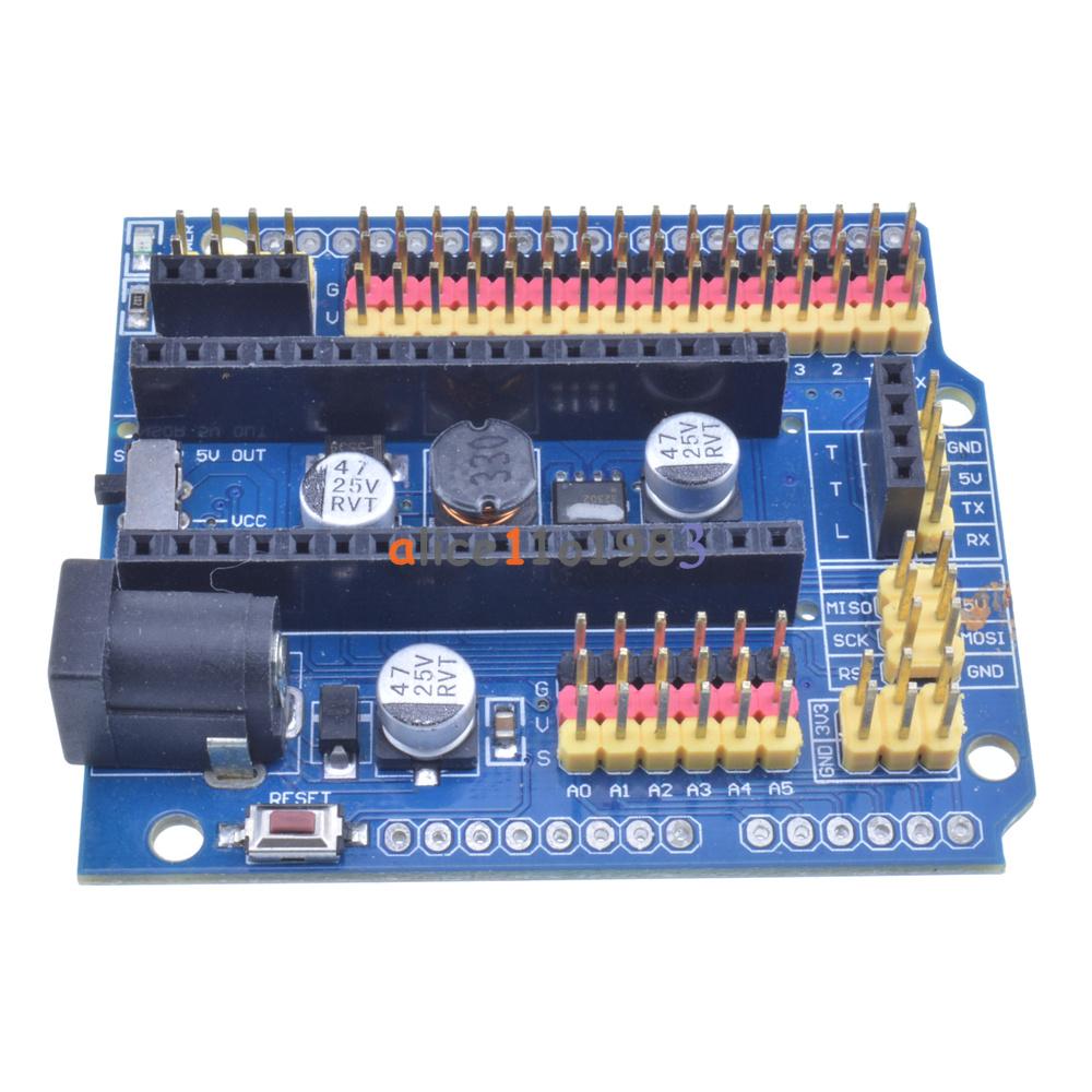 Arduino nano v i o expansion board micro sensor shield