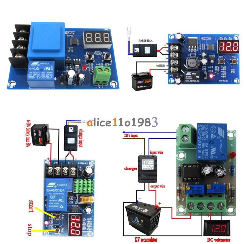 12V/24V 6-60V Battery Charging Control Board Charger Power