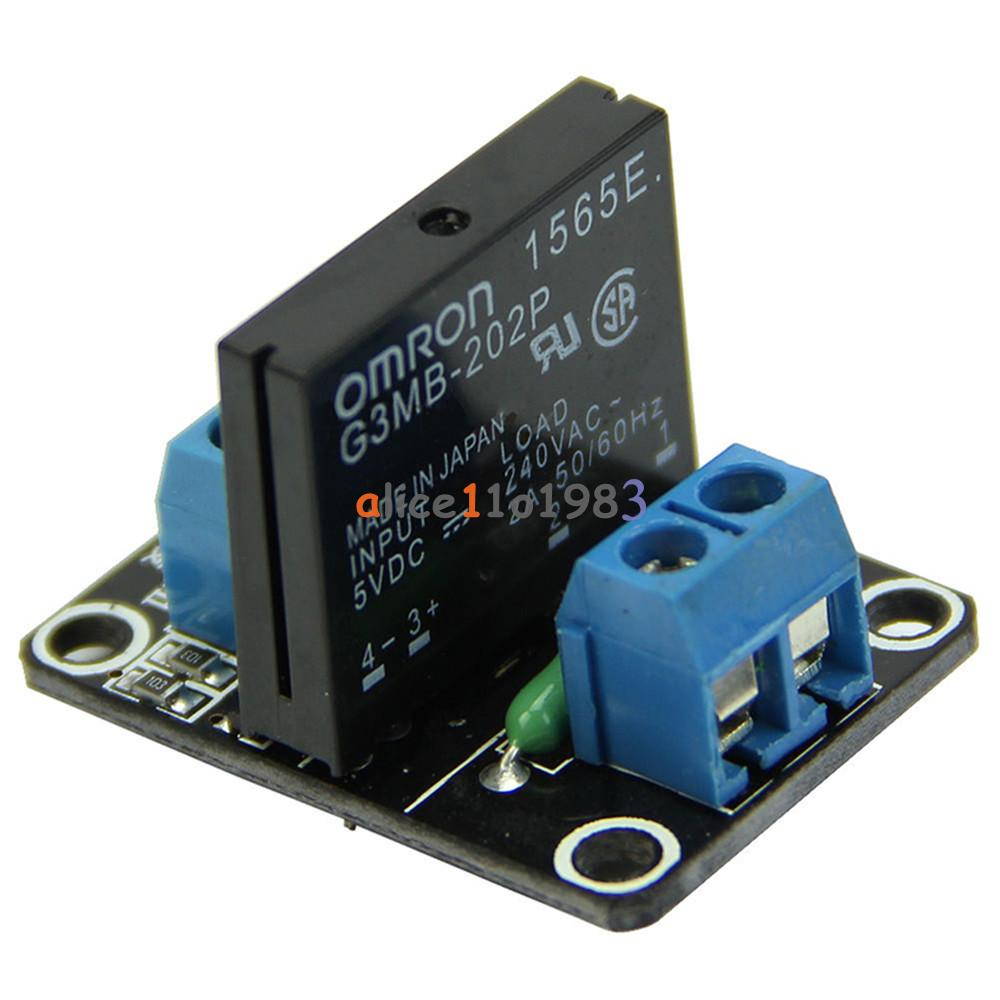 5v 1 Channel Omron Ssr G3mb 202p Solid State Relay Module