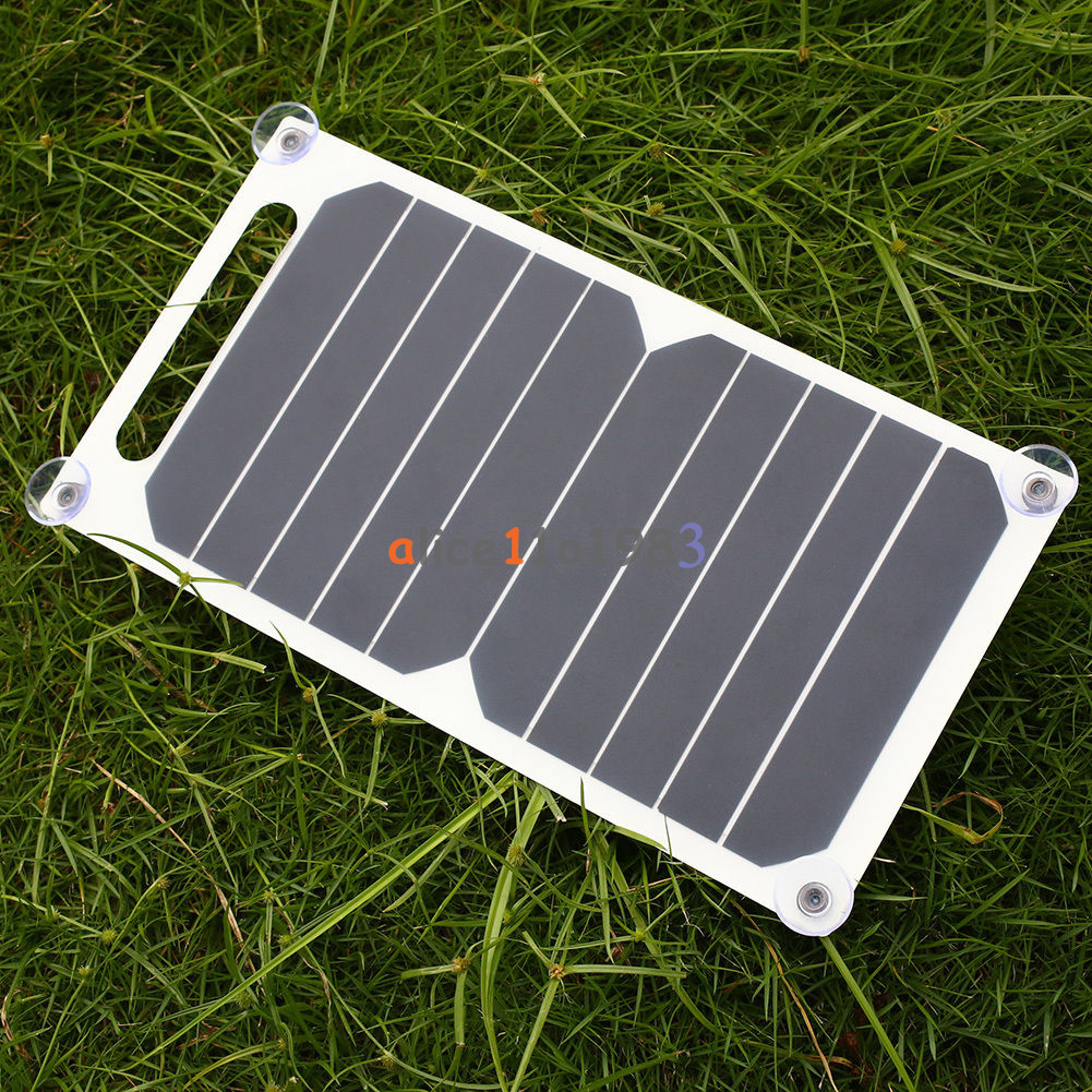 10w 5v Portable Solar Power Panel Charger For Samsung
