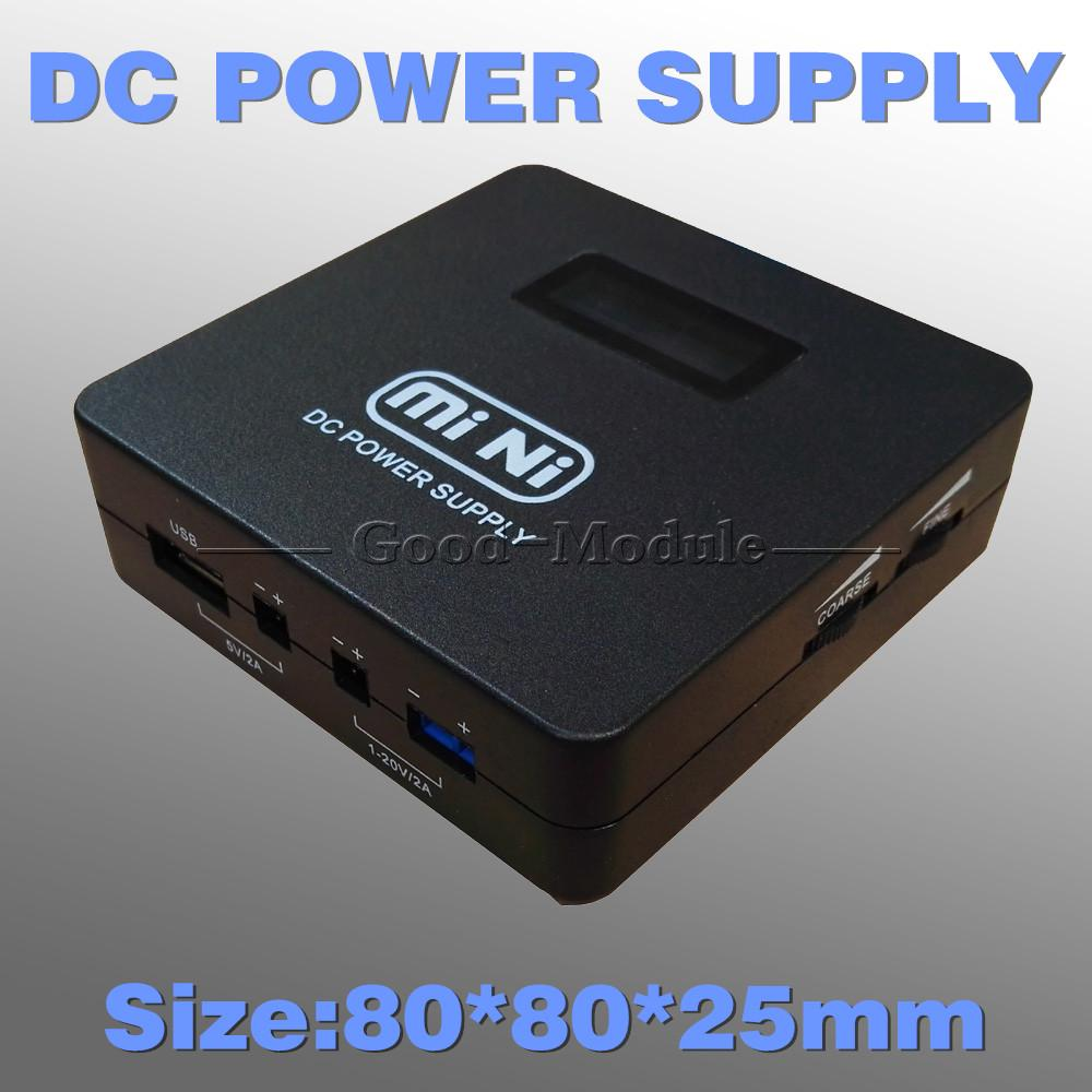 Lcd mini dc power supply usb step down converter v to