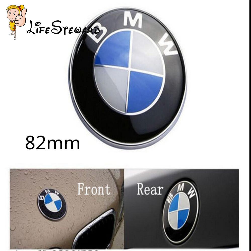82mm bmw car emblem front hood badge logo fits for bmw 3 5. Black Bedroom Furniture Sets. Home Design Ideas