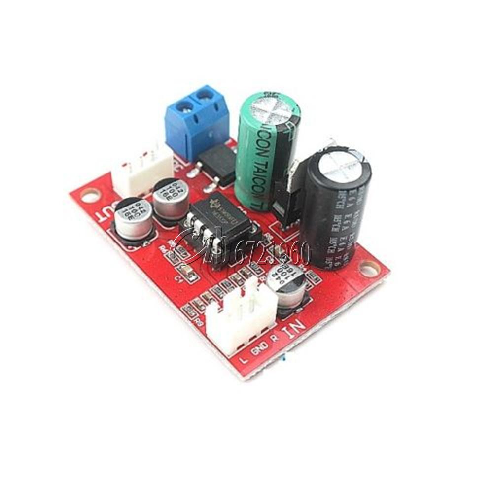 Diy Ne5532 Dynamic Microphone Stereo Preamp Amplifier Board Dc9 24v Using Transistors Ac8 16v