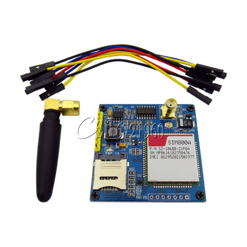 Details about 5V SIM800A GSM GPRS Module Development Board STM32 for  Arduino Replace SIM900A