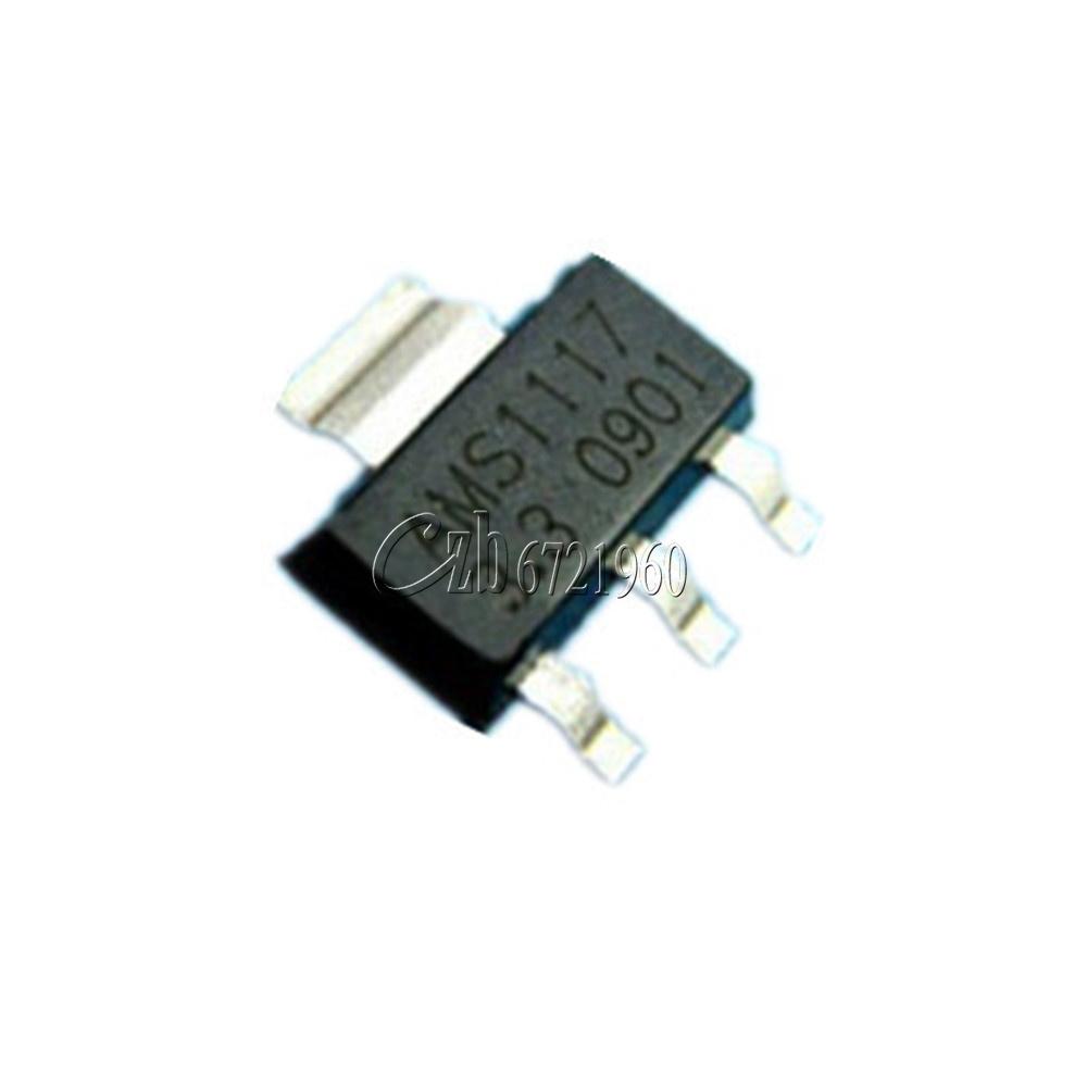 20pcs AMS1117 3.3V Voltage Regulator