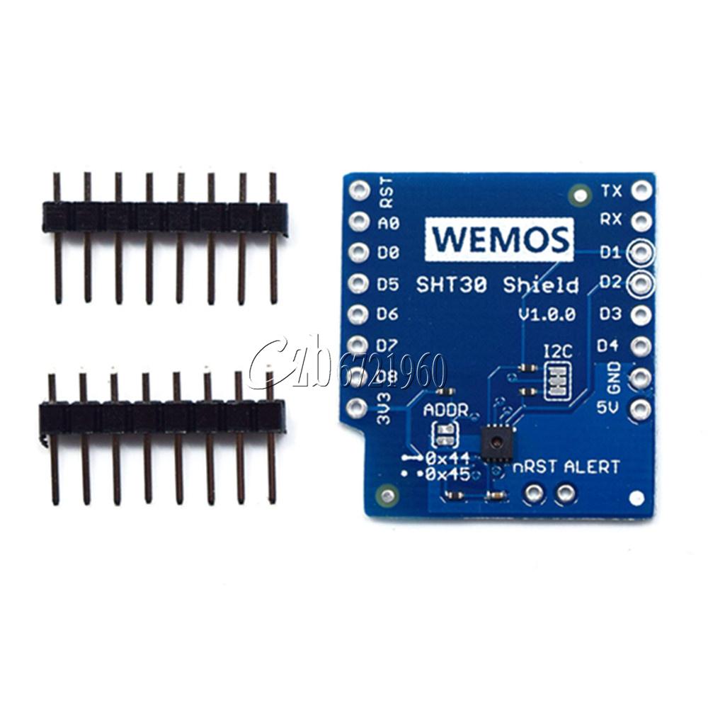SHT30 Shield I2C Digital Temperature and Humidity Module For WeMos D1 Mini