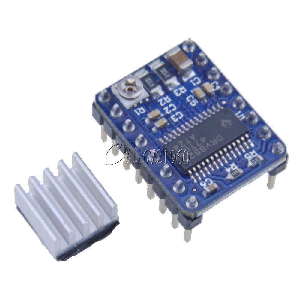 5pcs drv8825 stepper motor driver module arduino 3d for Ti stepper motor driver