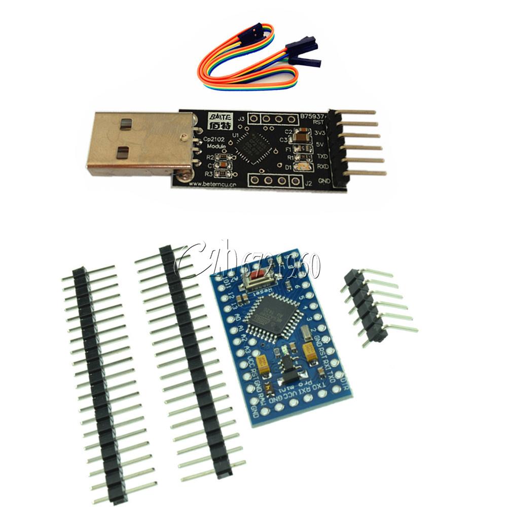 Pro mini atmega v m arduino compatible cp usb
