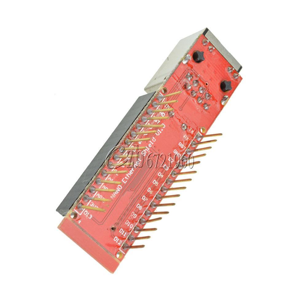 Mini enc j webserver module ethernet shield board for