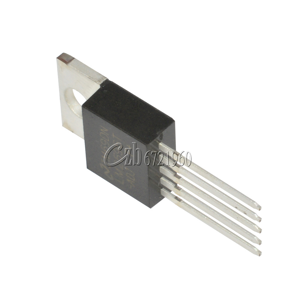 10PCS LM2596T-ADJ IC LM2596 NSC TO-220 regulador de voltaje 3A Ajustable T2 Nuevo