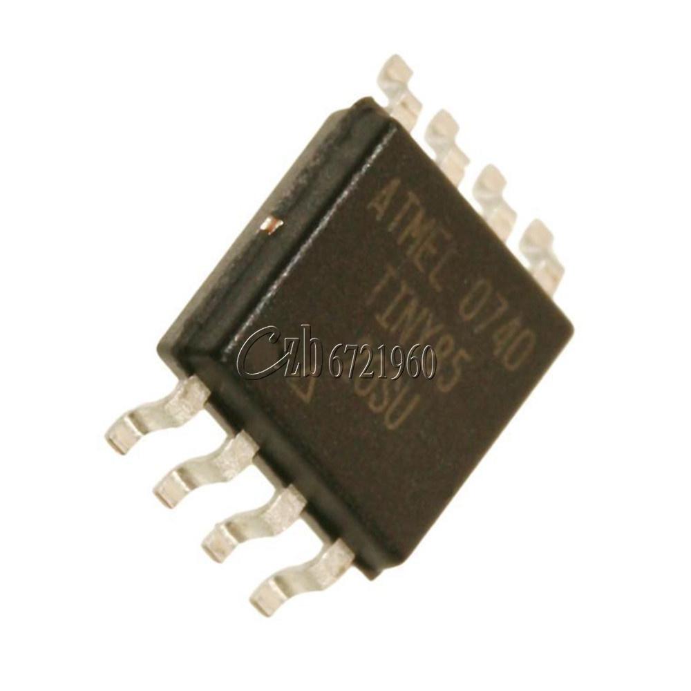 5PCS MCU IC SOP-8W ATTINY85-20SU ATTINY85-20SUR TINY85-20SU TINY85-20U TINY85