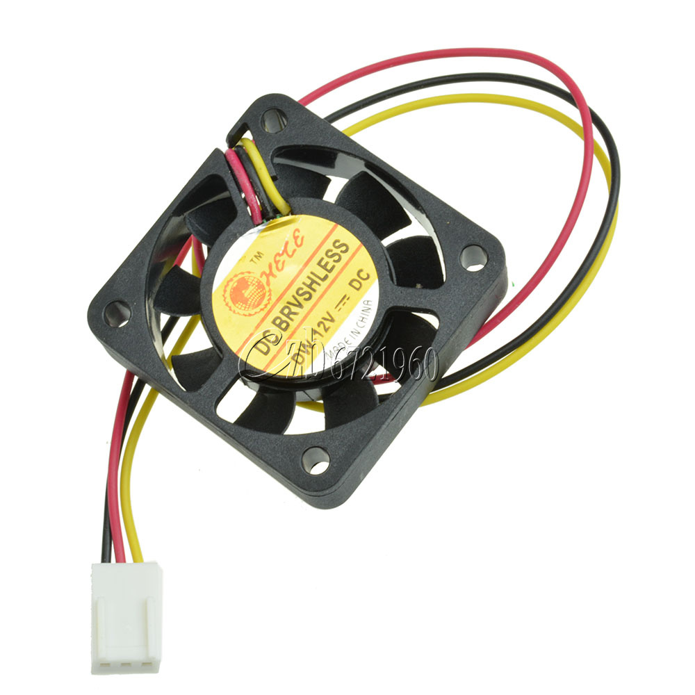 2//3pin DC 12V Small Cooling Fan For Computer Case CPU Cooler 40x40x10mm