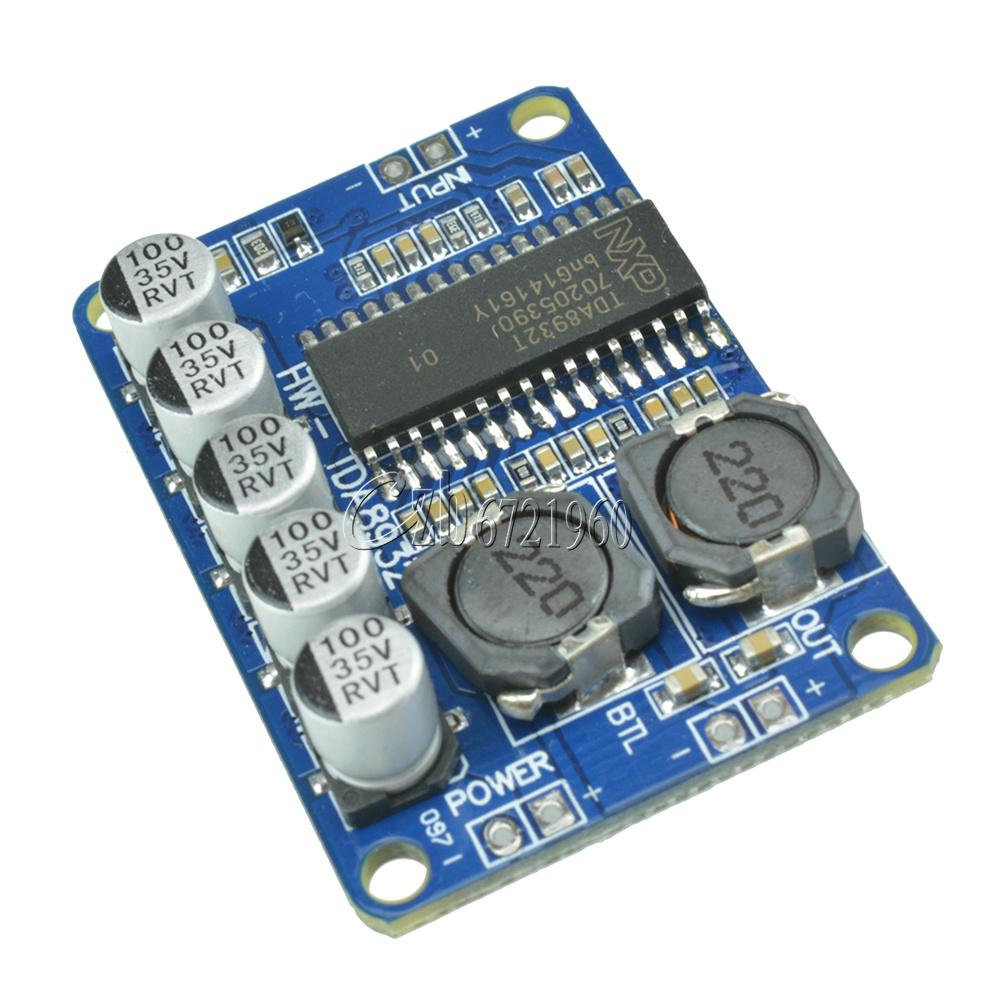 35W TDA8932 Mono Digital Amplifier Board Low Power Consumption Stereo Amplifier