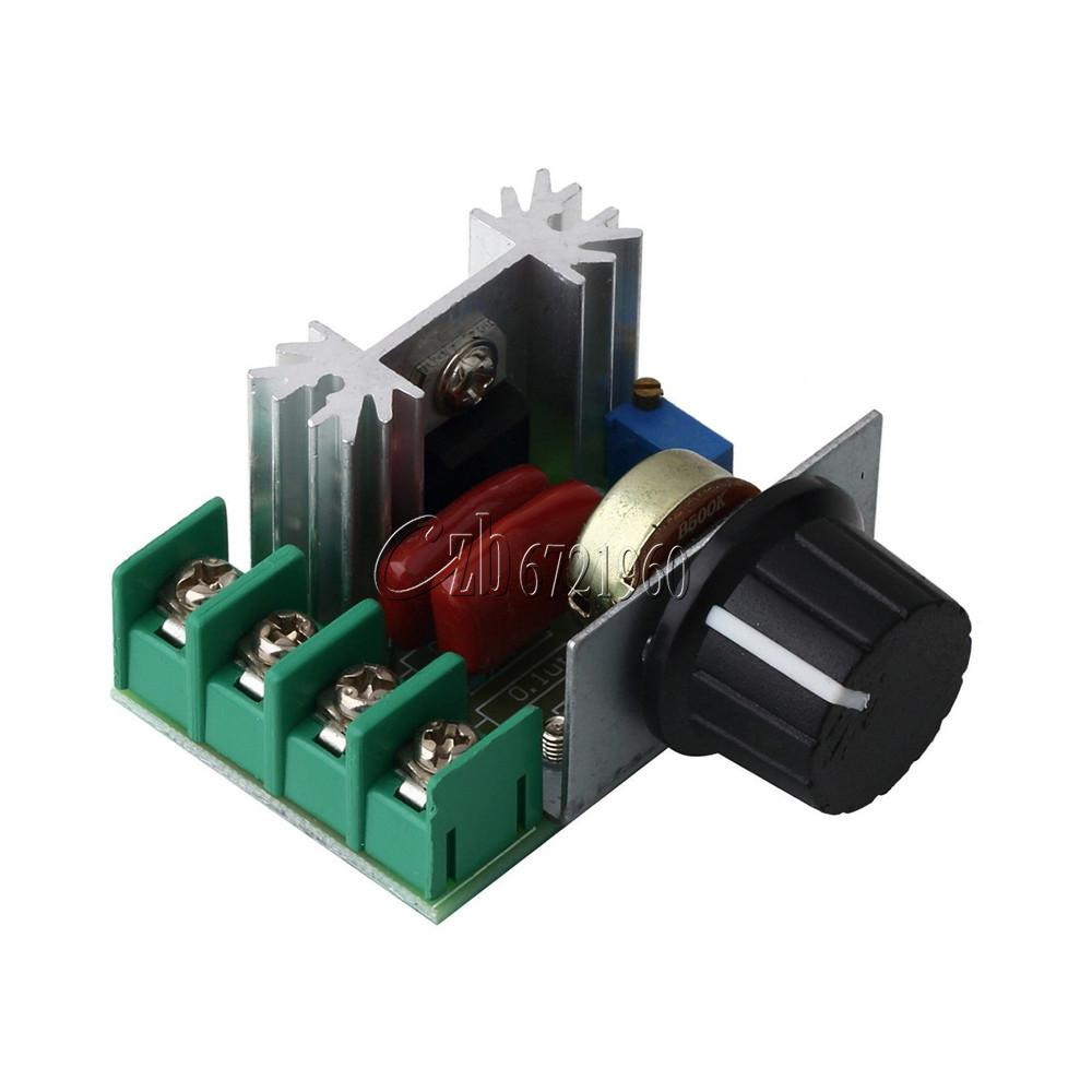 2000W 220V AC SCR Electric Voltage Regulator Motor Speed ...