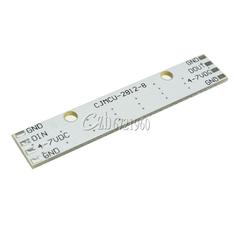 WS2812 5050 RGB LED Lamp Panel Module 5V 8-Bit Rainbow Precise for Arduino