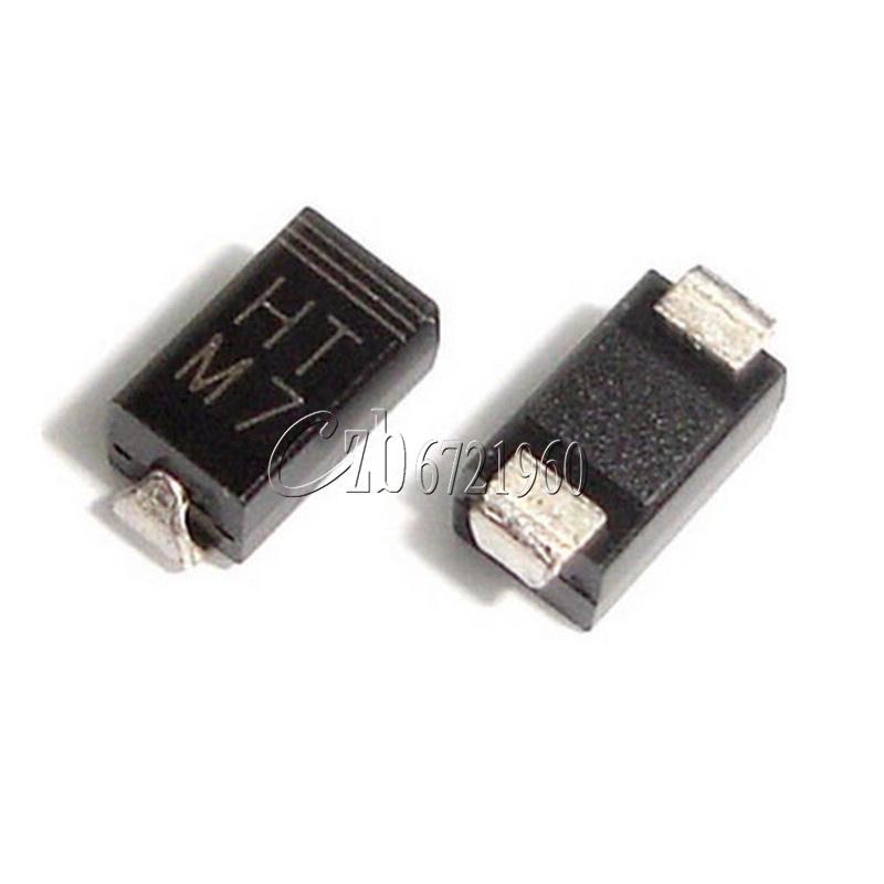 100pcs 1n4007 M7 Do 214 Smd Toshiba Diode Ebay