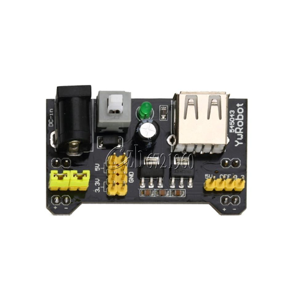 Pcs v mb breadboard power supply module for