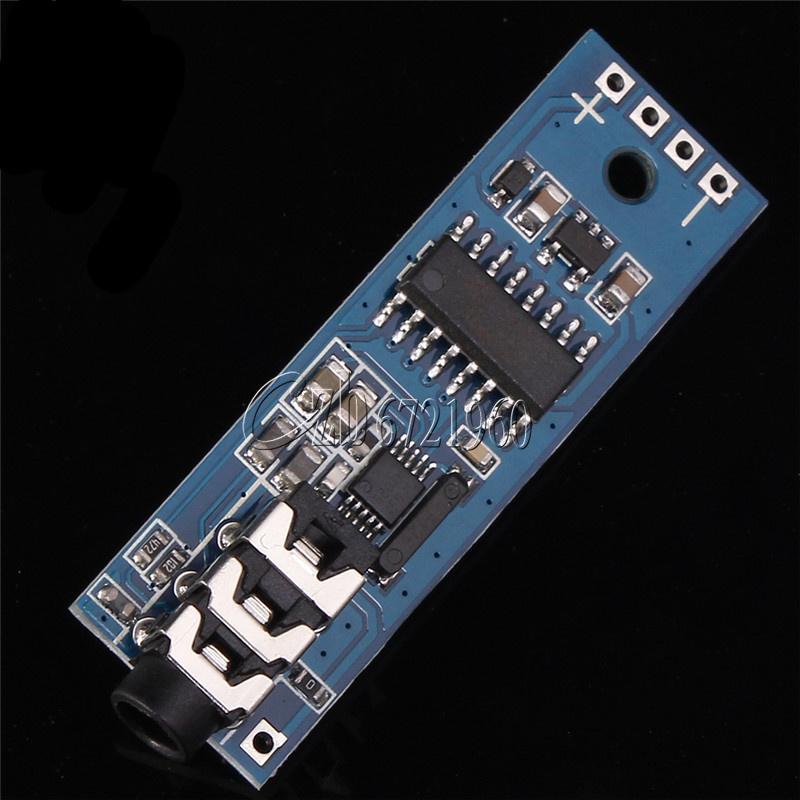 76-115MHz 3.6-6V 25mA Frequency Modulation Digital FM Radio Receiver Module