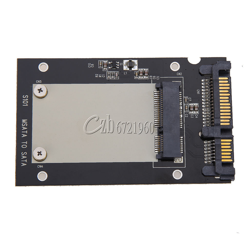 Mini PCI-e/mSATA SSD/Express to 40pin ZIF/7pin/2.5'' SATA Adapter Converter Card | eBay