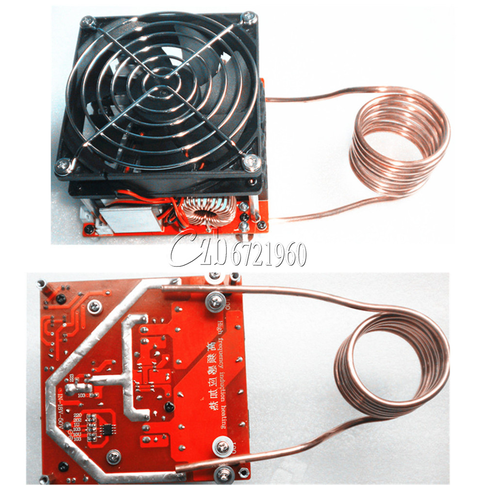 Coil Induction Cooker ~ Zvs a induction heating board flyback driver heater diy
