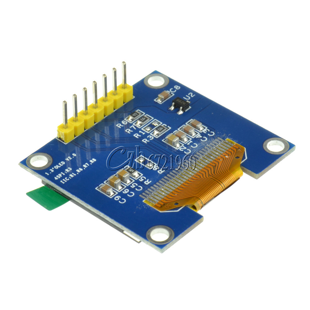 Quot white spi serial oled lcd display screen