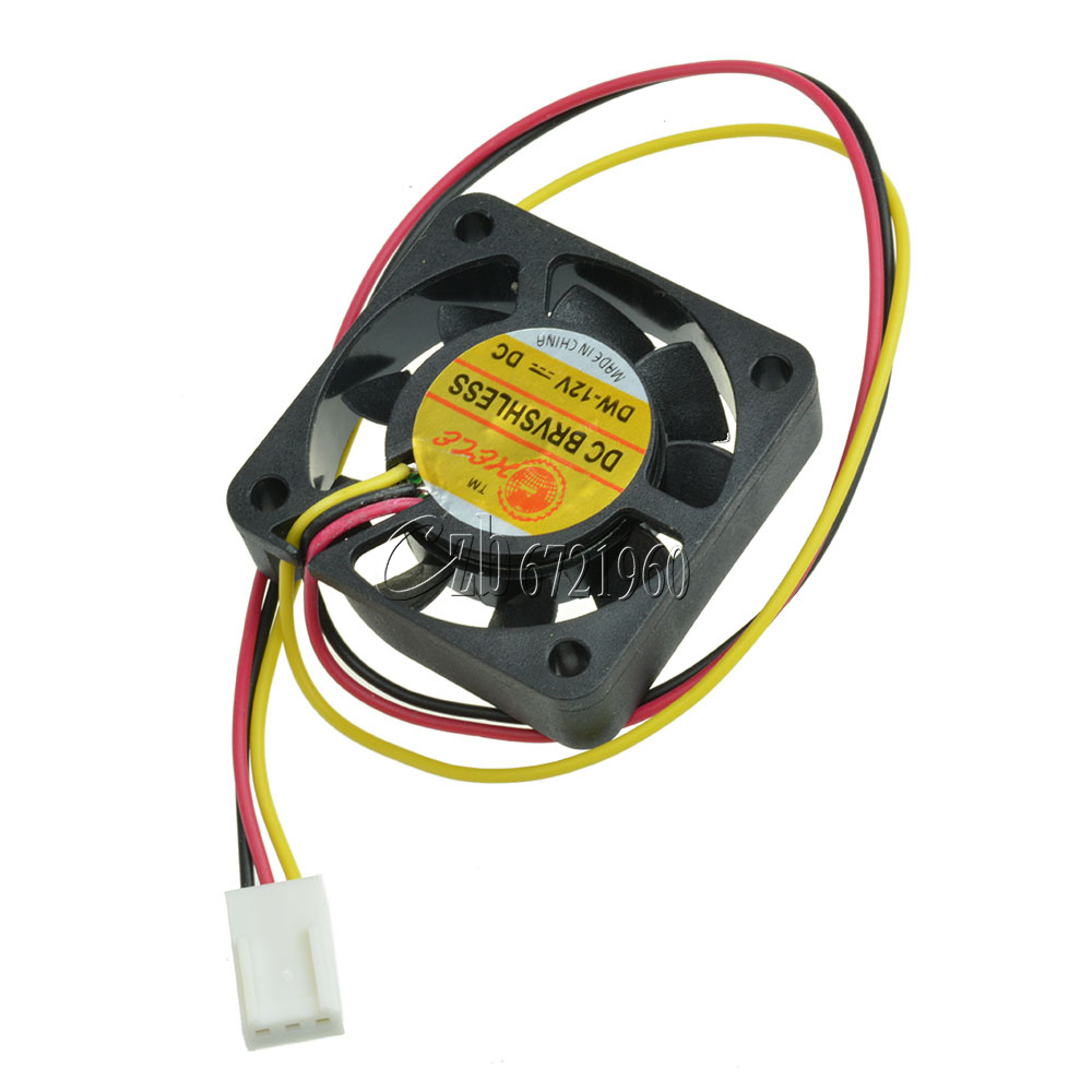 Dc Brushless Fan Replacement : V pin mm mini cm dc brushless computer cooler