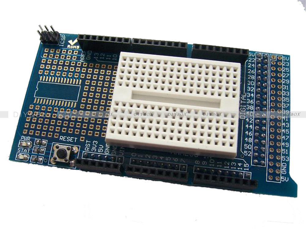 Arduino uno mega prototype shield protoshield v