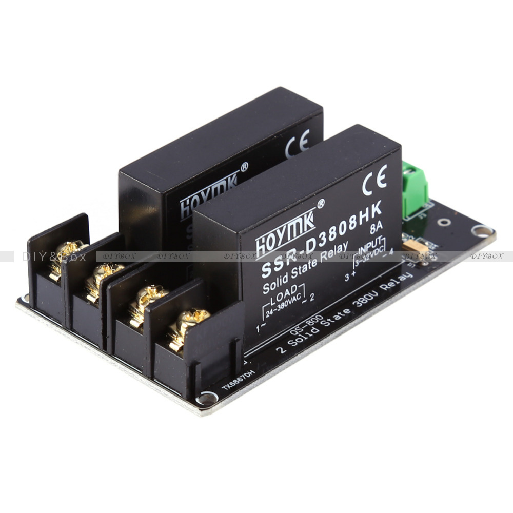 380v 8a 1 2 4 Channel Solid State Relay Board Ssr Switch