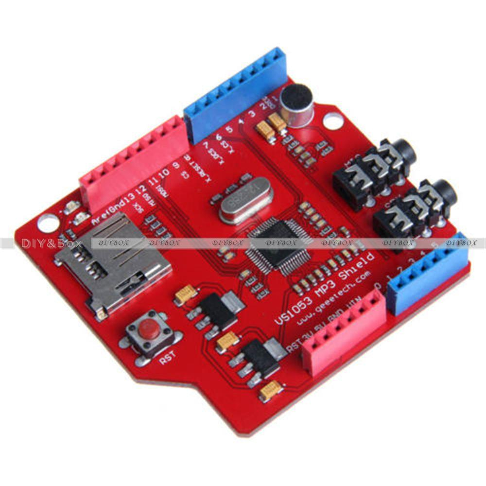 Ic vs b mp music shield board module tf sd