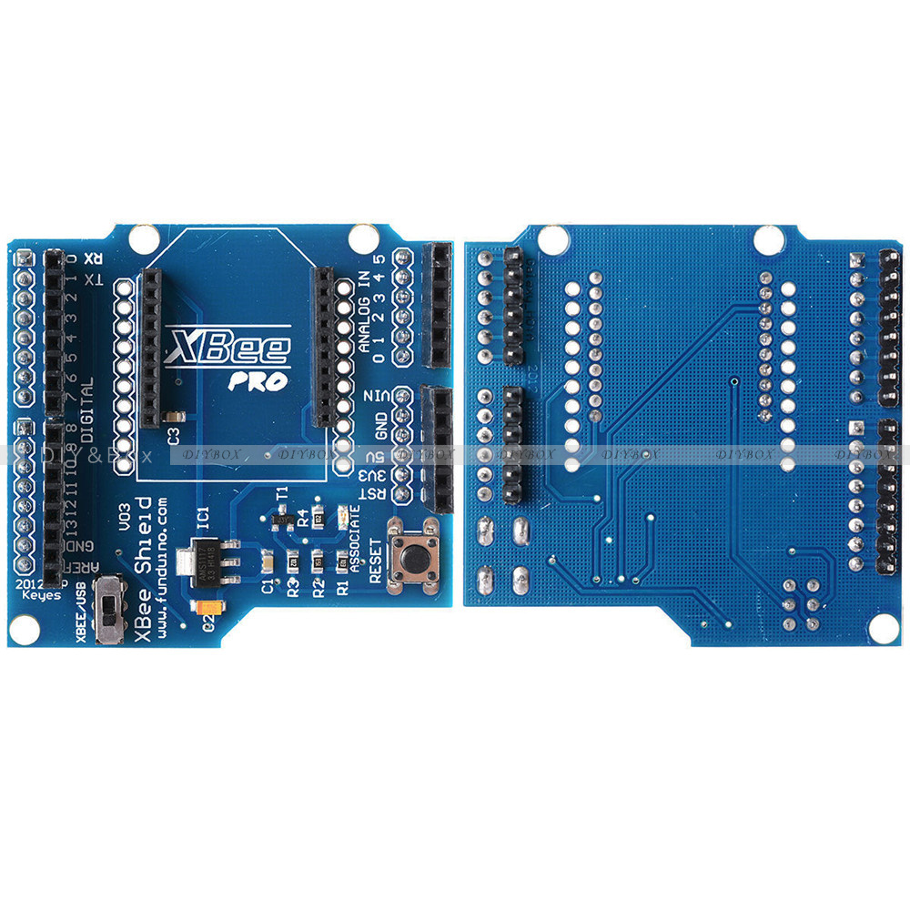 Shield v module xbee wireless control bluetooth for