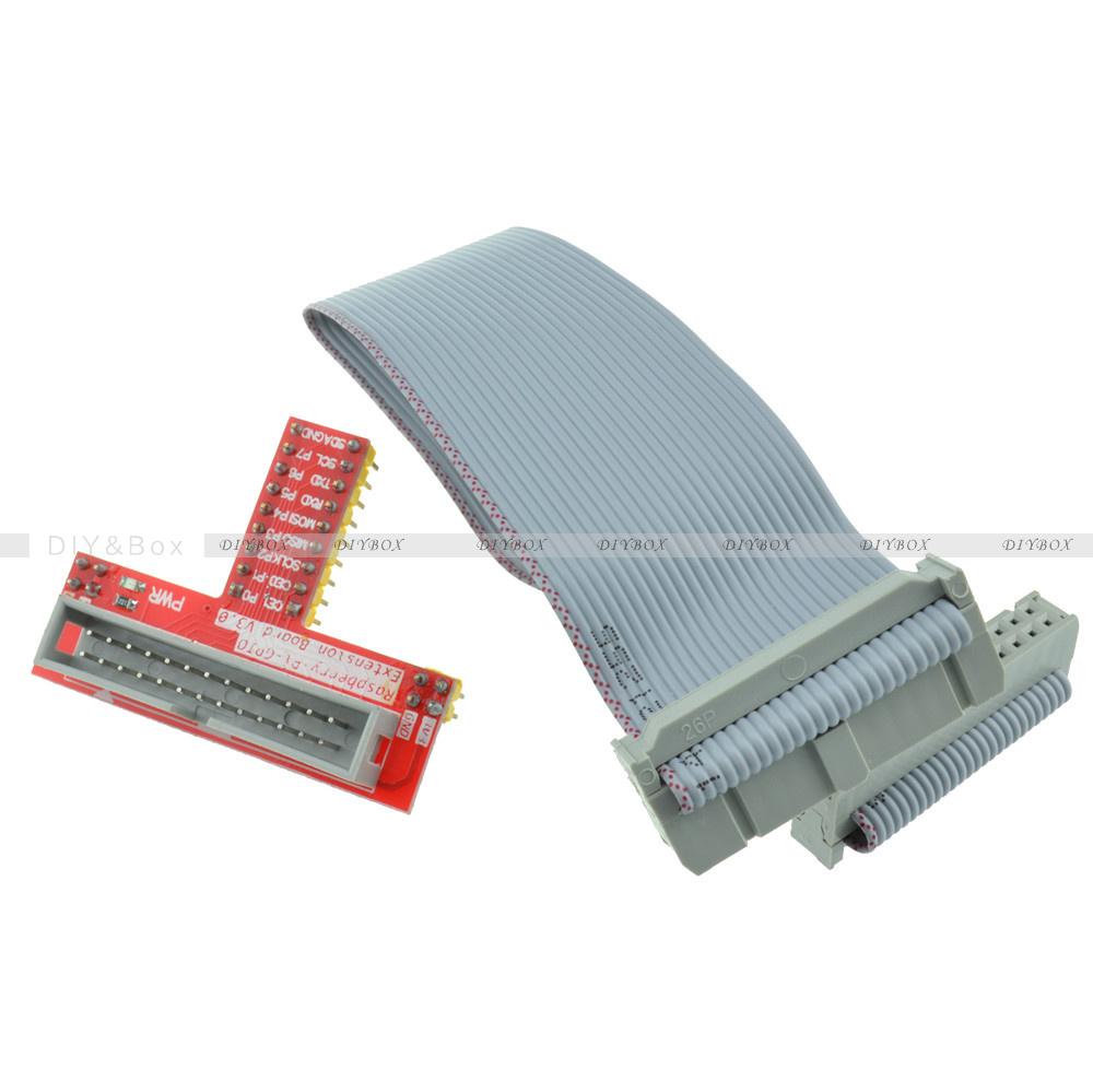 26pin Gpio Ribbon Cable Raspberry Pi Gpio Kit Extension