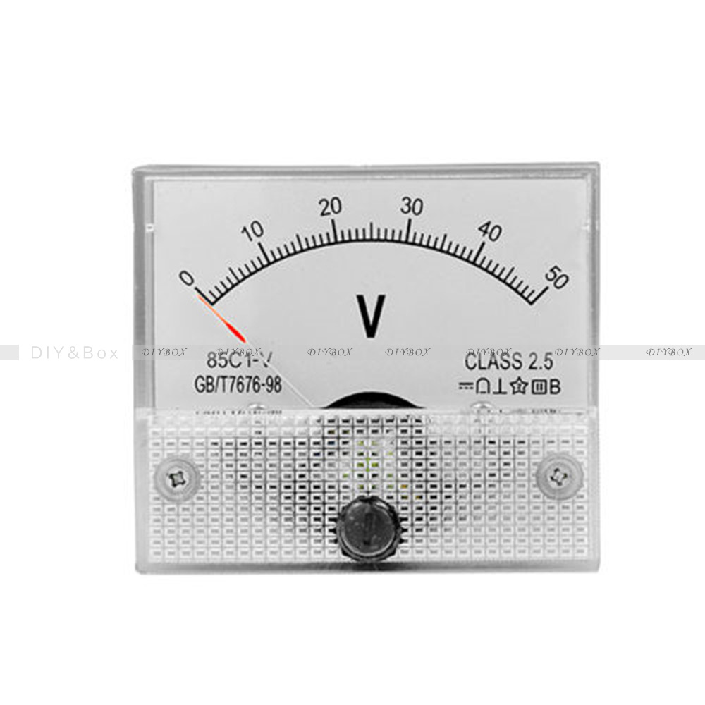Analog Panel Meter : Dc v c analog panel meter voltage volt