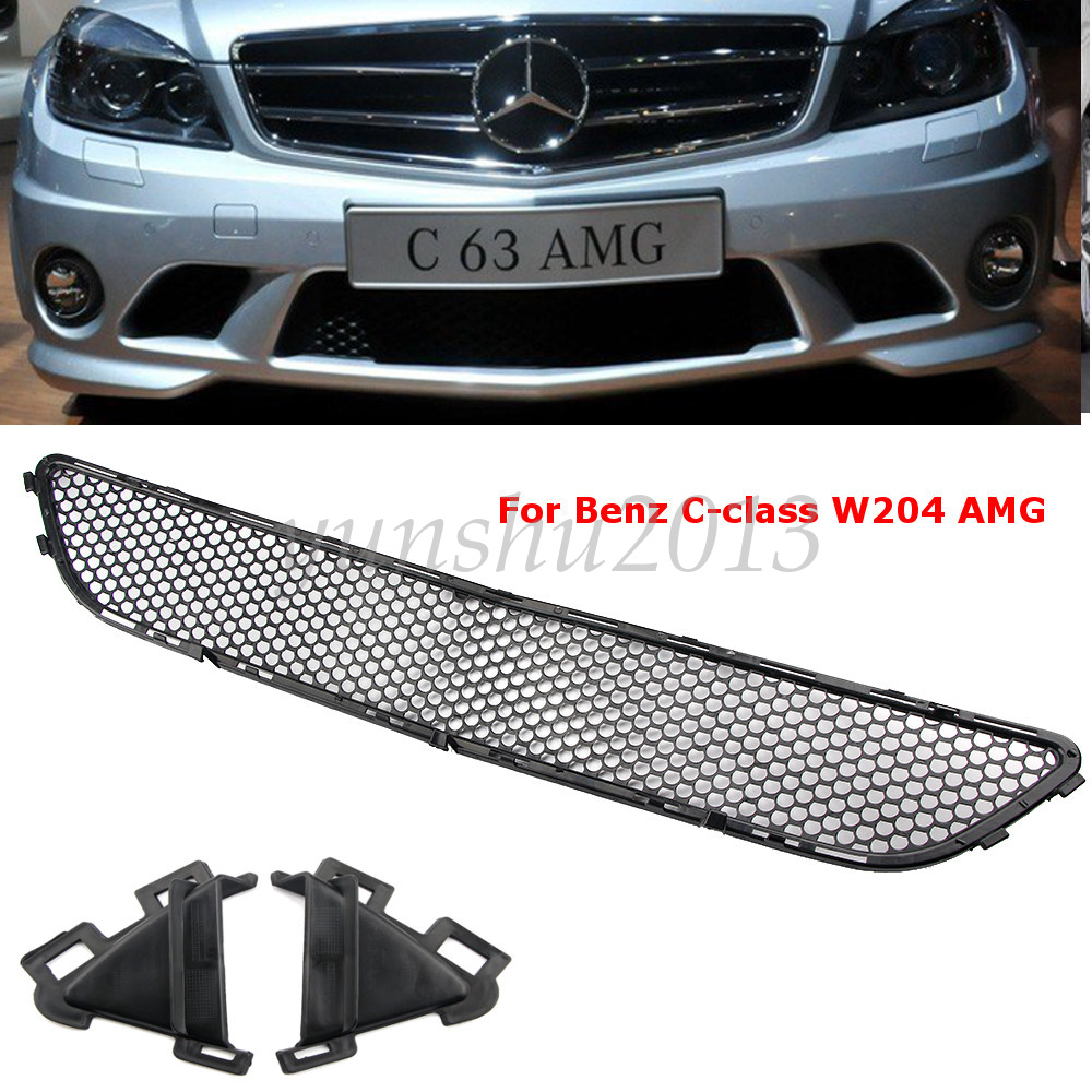 for mercedes c class w204 amg 08 11 car front bumper mesh. Black Bedroom Furniture Sets. Home Design Ideas