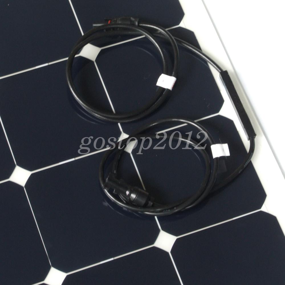 60w80w 70w 100w 18v Semi Flexible Solar Panel Diy Rv Boat