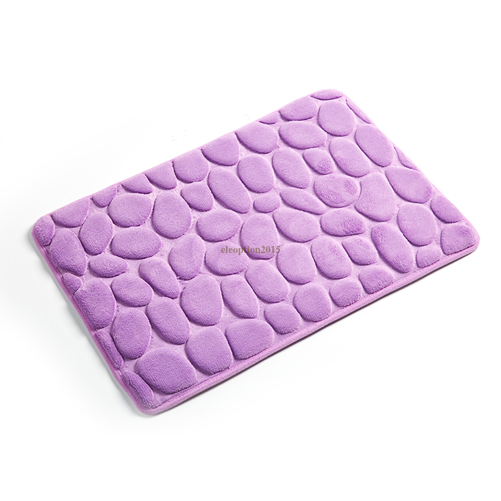 Plush Bathroom Rug Sets: Bathroom Rug Set Bath Mat Cotton Non Slip Plush Throw Rugs