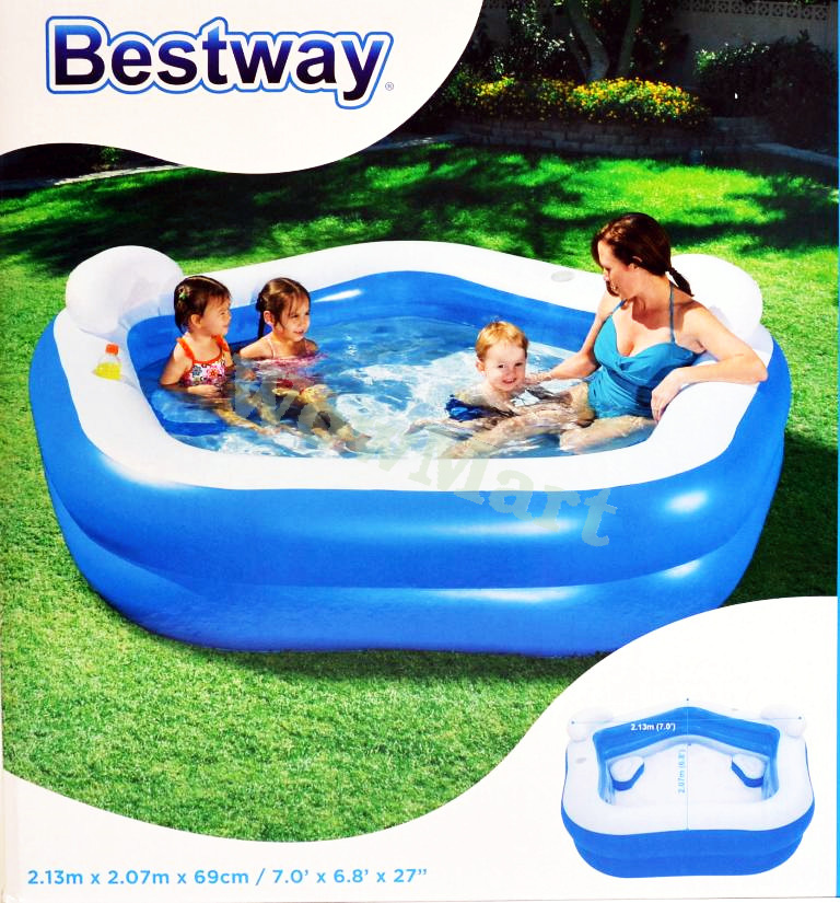 Bestway Inflatable Children Kids Family Swimming Pool
