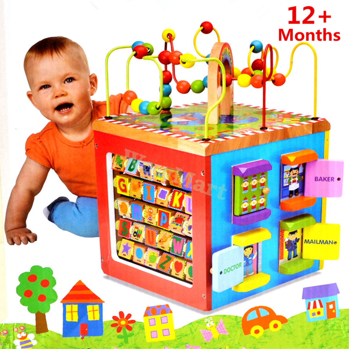 Southeast Big Boys Toys : Gift educational toy m baby in wooden bead maze