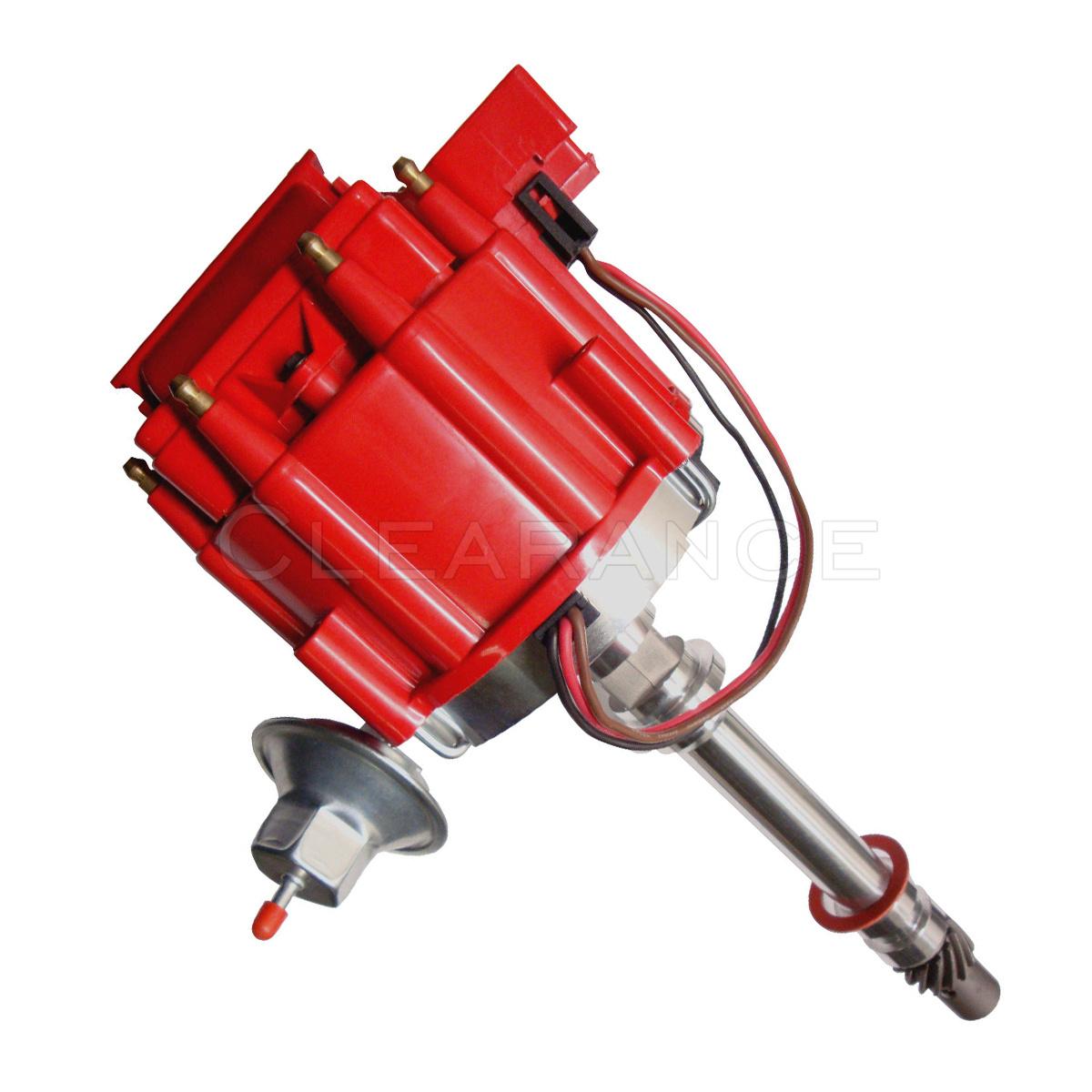 Gm08 Chevy Sbc 350 Bbc 454 Hei Distributor  U0026 Spark Plug Wires Ignition Combo Kit