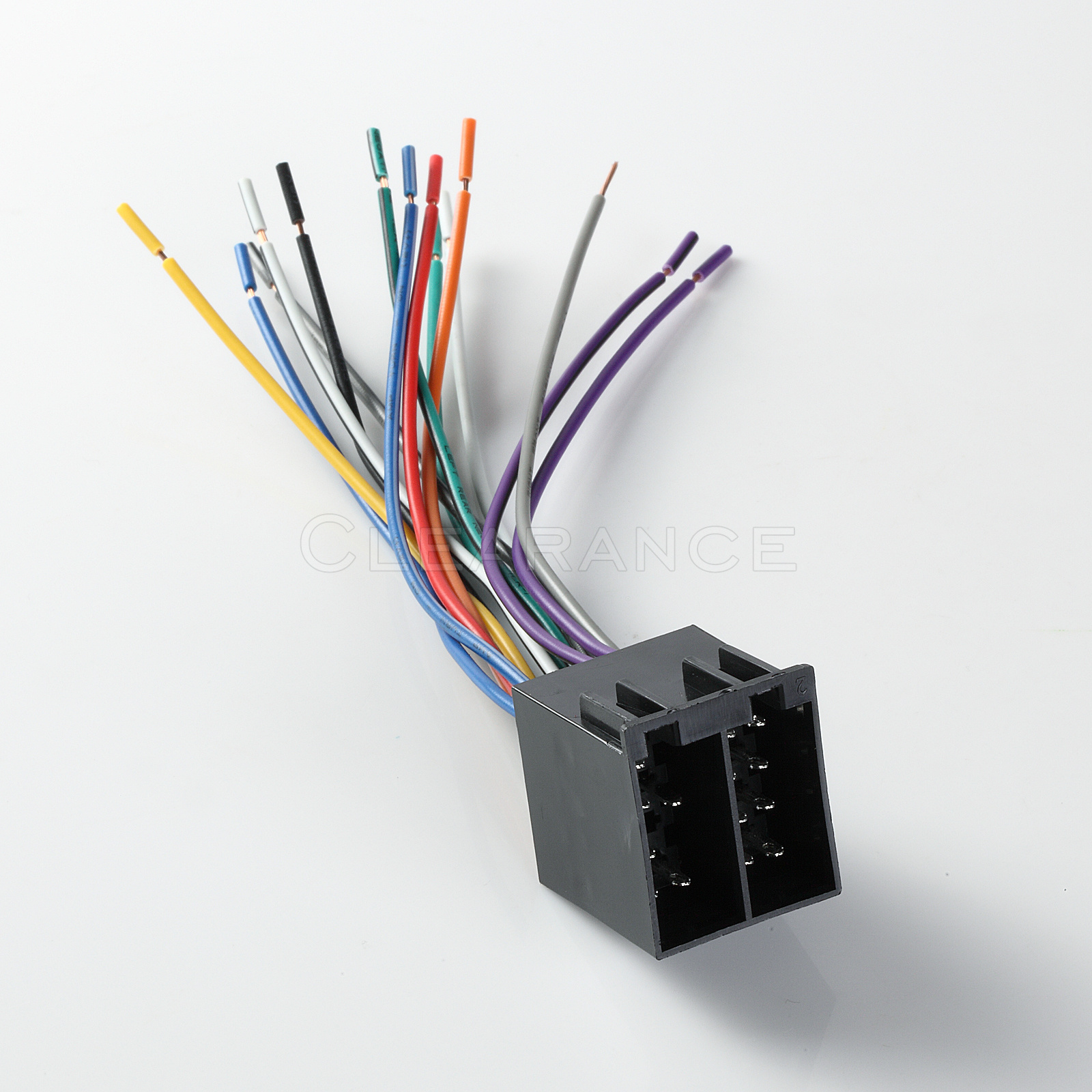 wiring harness wire adapter plug 1987 up raptor metra 70. Black Bedroom Furniture Sets. Home Design Ideas