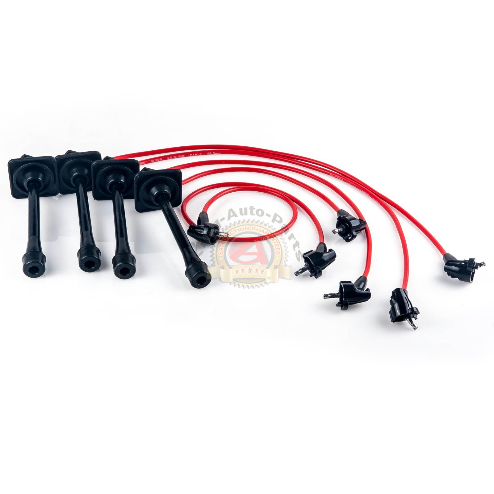 Ignition Spark Plug Wires Set for 92-96 97 Toyota Camry Celica MR2 Rav4 2.2L