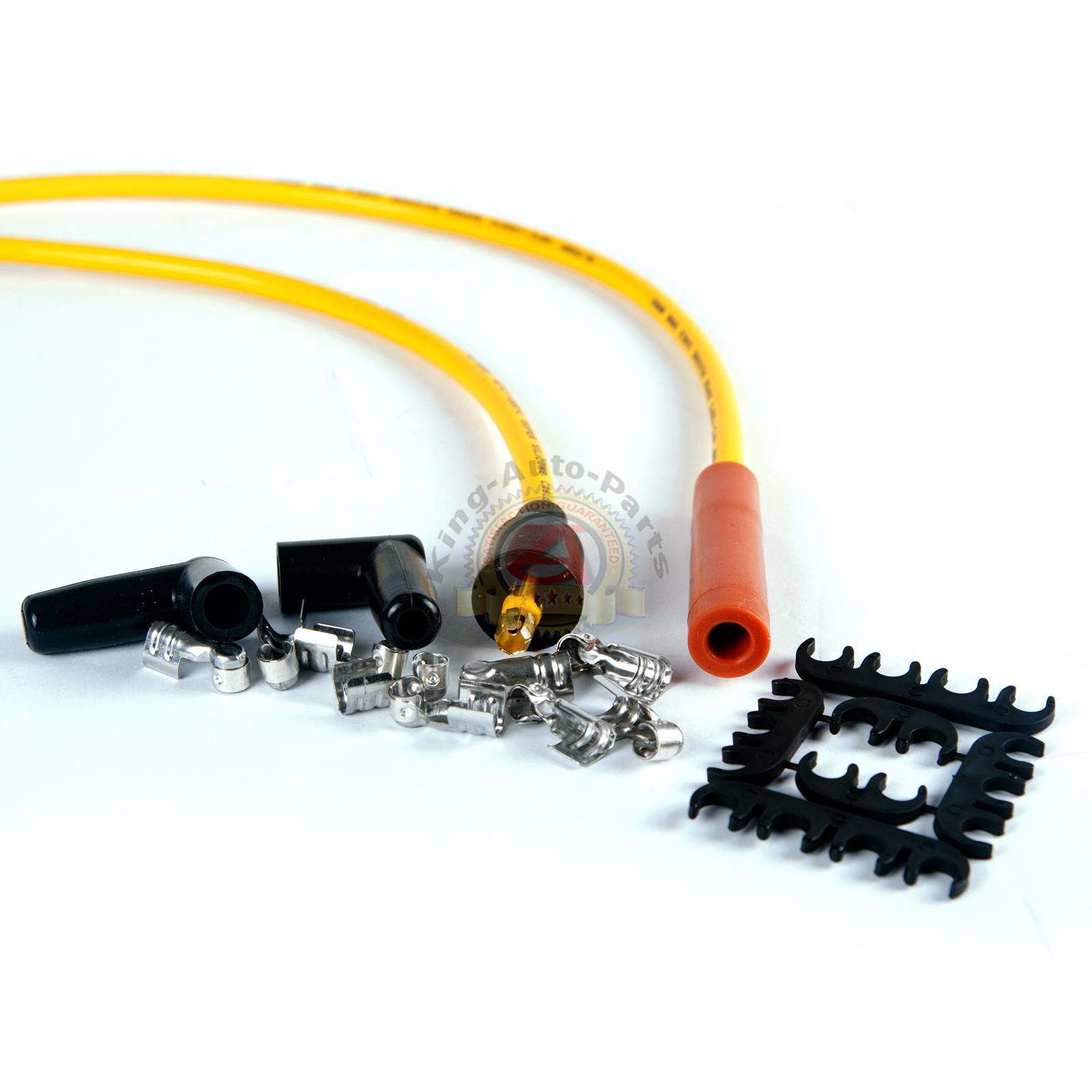 chevy sbc 350 bbc 454 hei distributor  u0026 spark plug wires