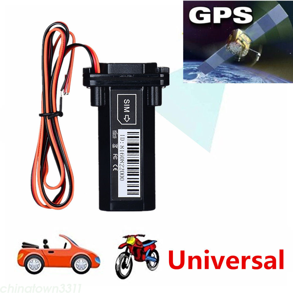 gsm gps tracker car motorcycle vehicle locator global real. Black Bedroom Furniture Sets. Home Design Ideas